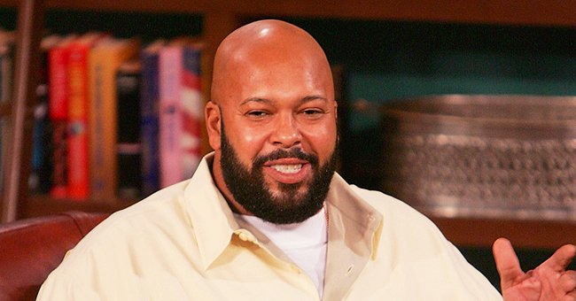 Suge Knight's Son Jacob Holds Daughter Wearing Cute Pink Onesie in a New Photo
