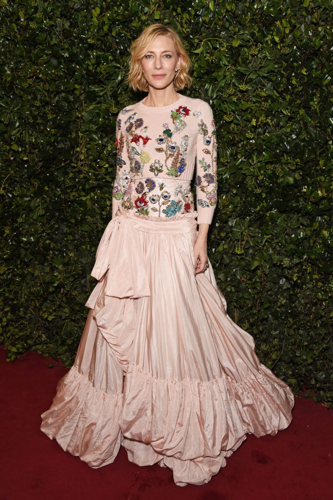 Cate Blanchett at the London Evening Standard Theatre Awards 2017 in London, England | Source: Getty Images