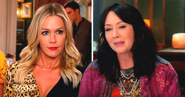 BH90210: Shannen Doherty Reveals Jennie Garth Yanked Her Hair out on 'Beverly Hills, 90210' Set