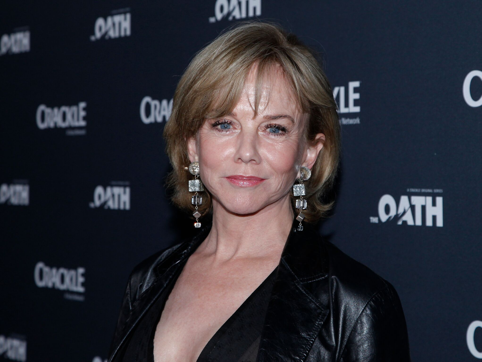 Linda Purl attends the premiere of Crackle's 'The Oath' at Sony Pictures Studios  | Getty Images
