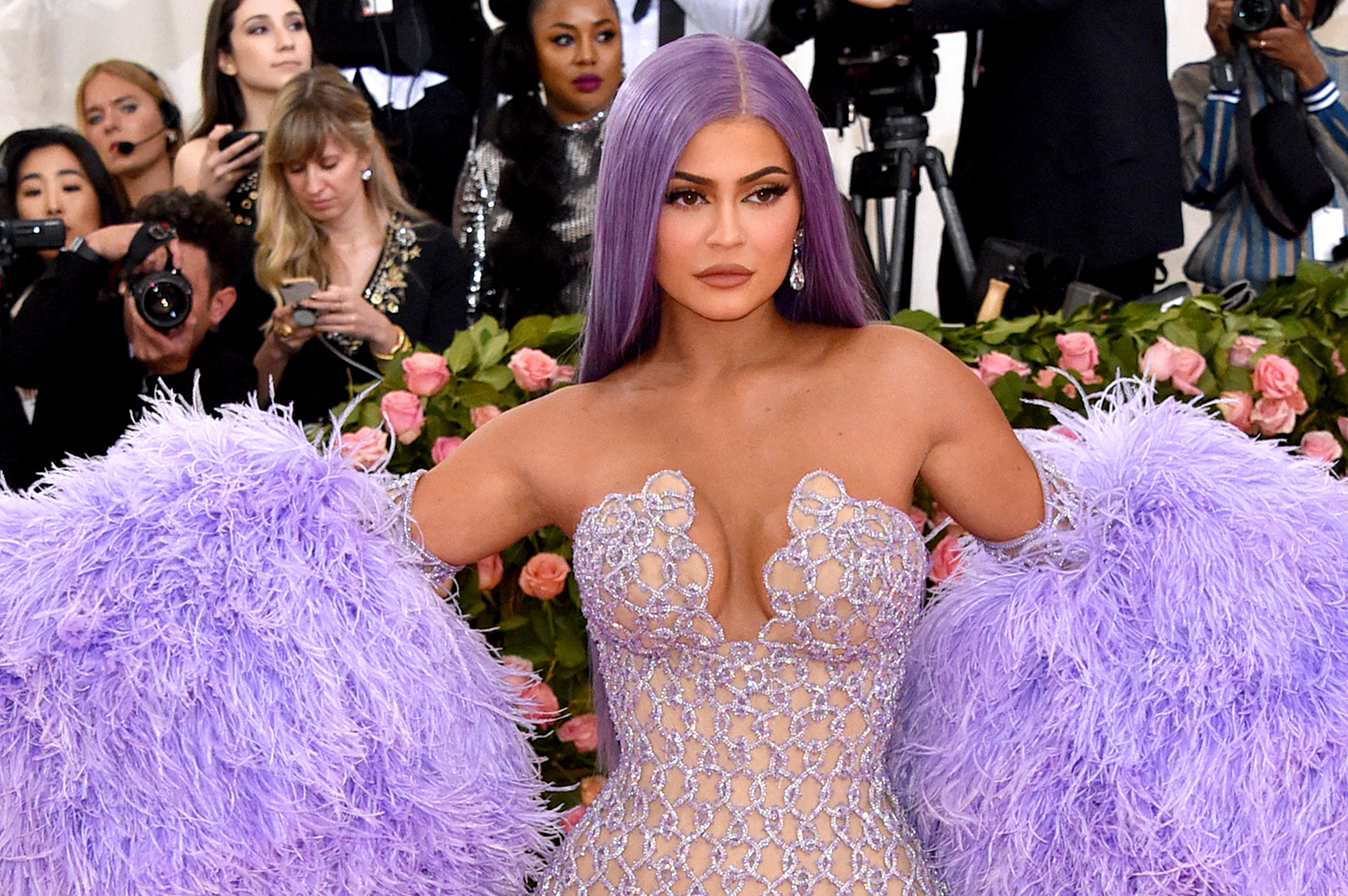 "Kylie Jenner at the 2019 Met Gala ""Celebrating Camp: Notes on Fashion"" at Metropolitan Museum of Art on May 06, 2019. 