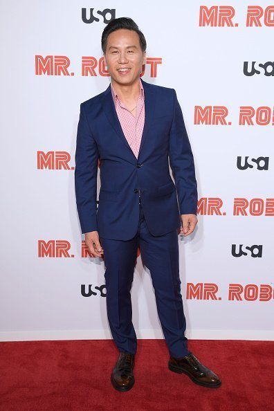"Wong at the ""Mr. Robot"" Season 4 Premiere on October 01, 2019 