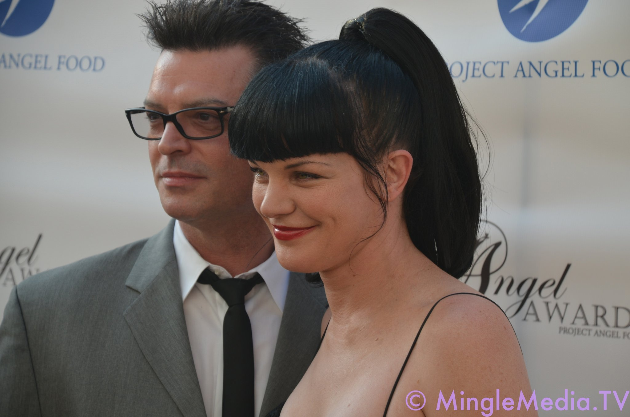 Pauley Perrette and Thomas Arklie | Photo: Getty Images