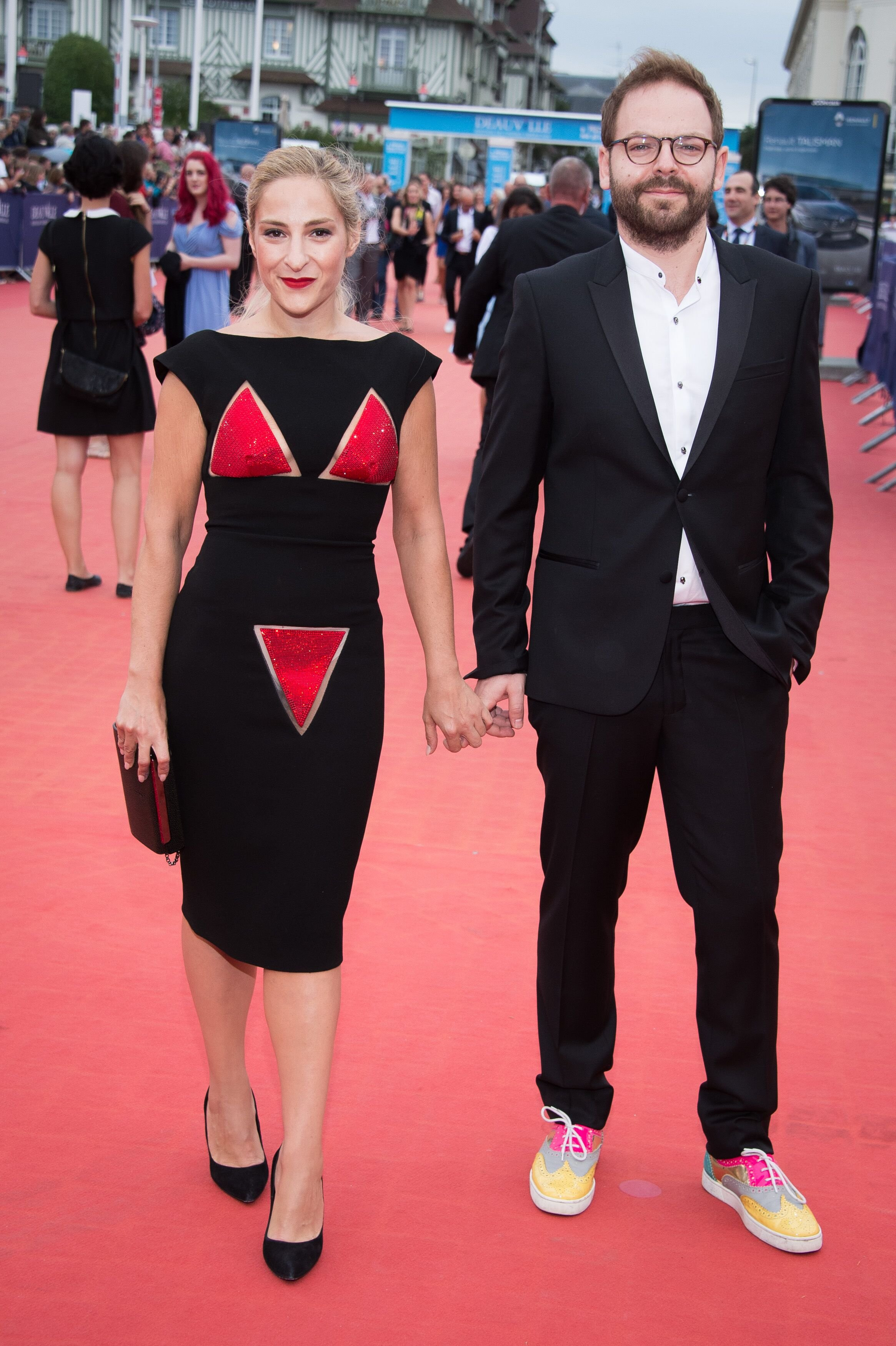 Marilou Berry et Arnaud Schneider. l Source : Getty Images
