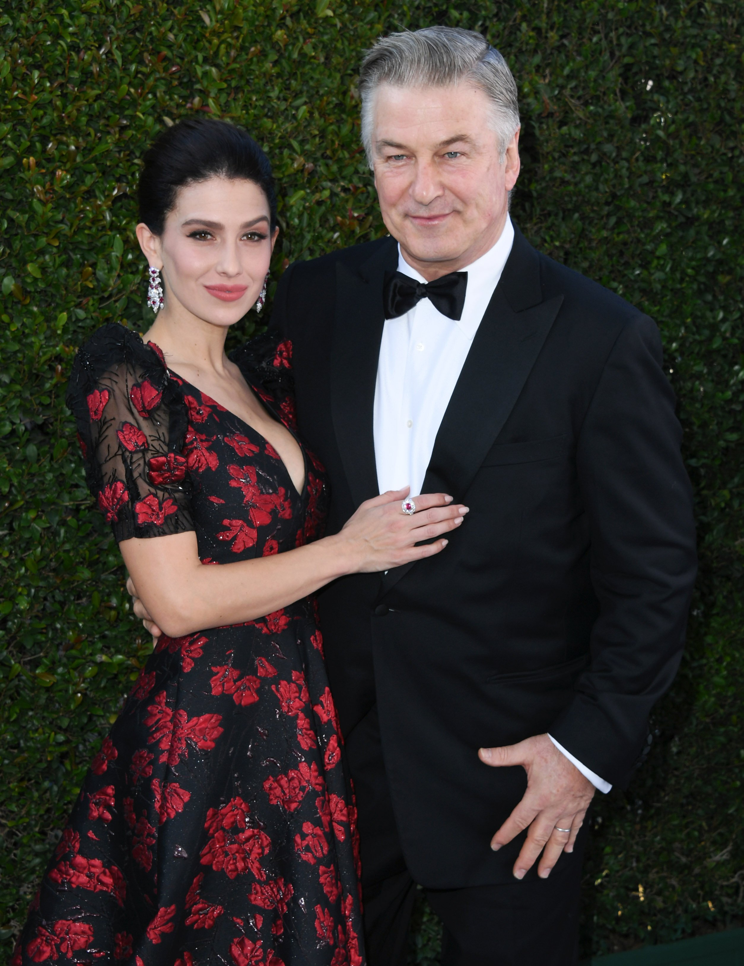 Hilaria Baldwin and Alec Baldwin attend 25th Annual Screen Actors Guild Awards at The Shrine Auditorium on January 27, 2019, in Los Angeles, California. | Source: Getty Images.