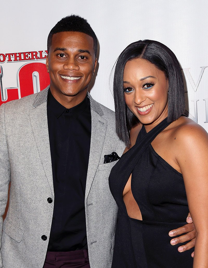 """Cory Hardrict and Tia Mowry-Hardrict attend the premiere of """"Brotherly Love"""" at SilverScreen Theater at the Pacific Design Center on April 13, 2015 in West Hollywood, California. I Image: Getty Images."""