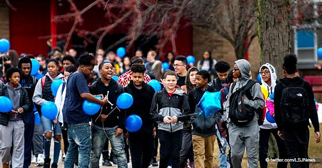 Boy Commits Suicide Because of Bullying at School; His Classmates Honor Him with Balloons