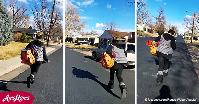 Confrontation video shows Colorado woman chasing down porch thief and shaming her