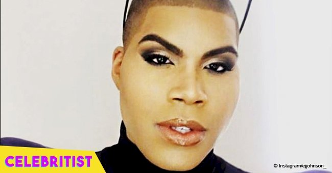 EJ Johnson flaunts his enviable curves in skimpy outfit & high heels after major weight loss