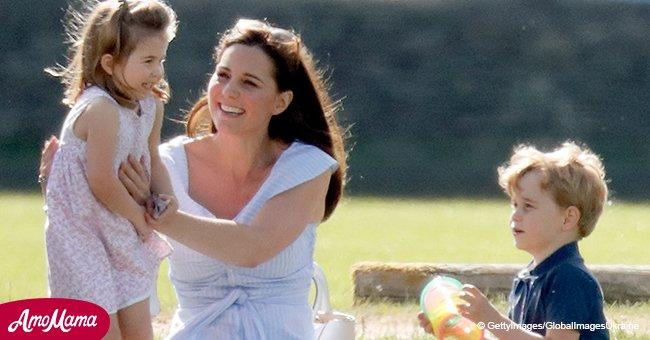 La Princesse Charlotte a le même passe-temps que le Prince George - tout comme les enfants ordinaires