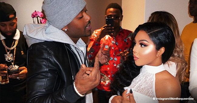 Lil Kim looks alluring in sheer white body suit in new photo with Ray J