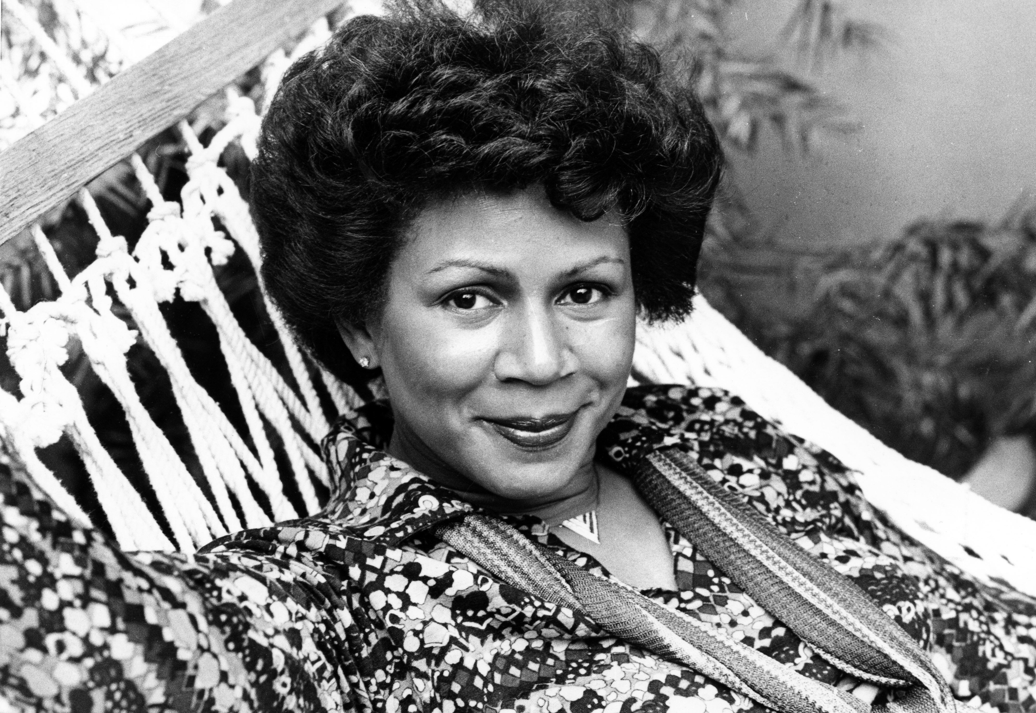 R&B singer Minnie Riperton poses for a portrait on October 20, 1977.   Photo: Getty Images