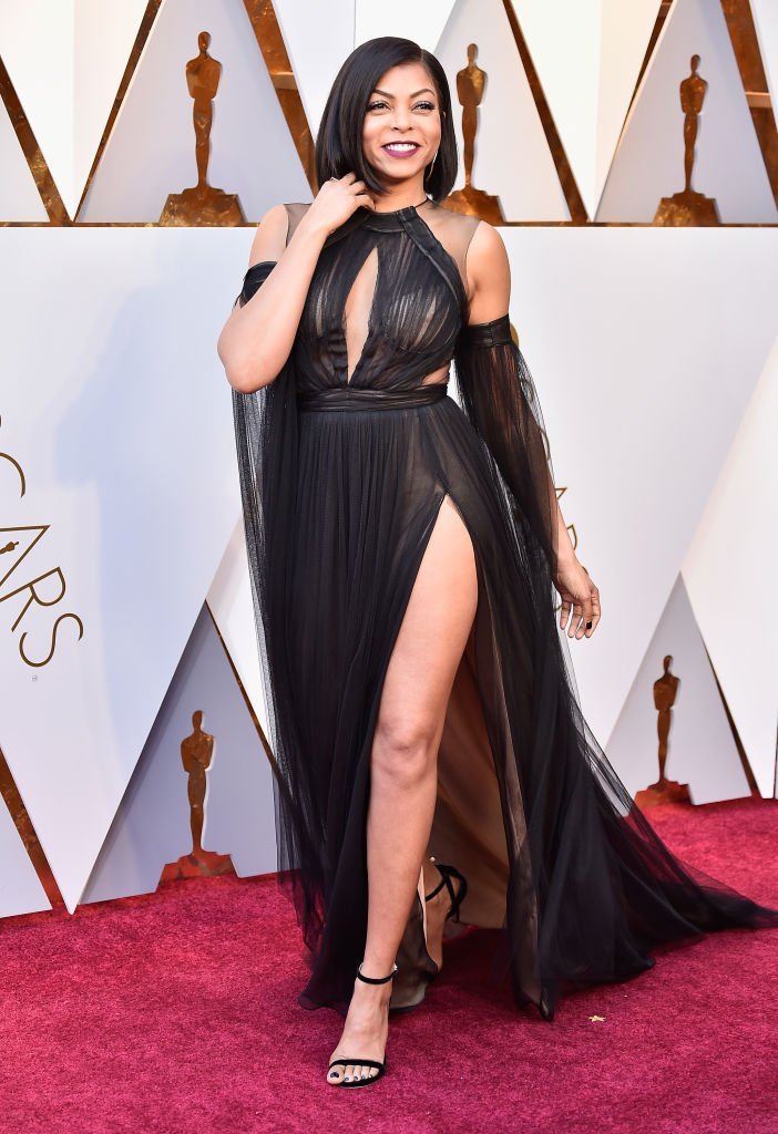Actress Taraji P. Henson attends the 2018 Annual Academy Awards in Hollywood, California. | Photo: Getty Images