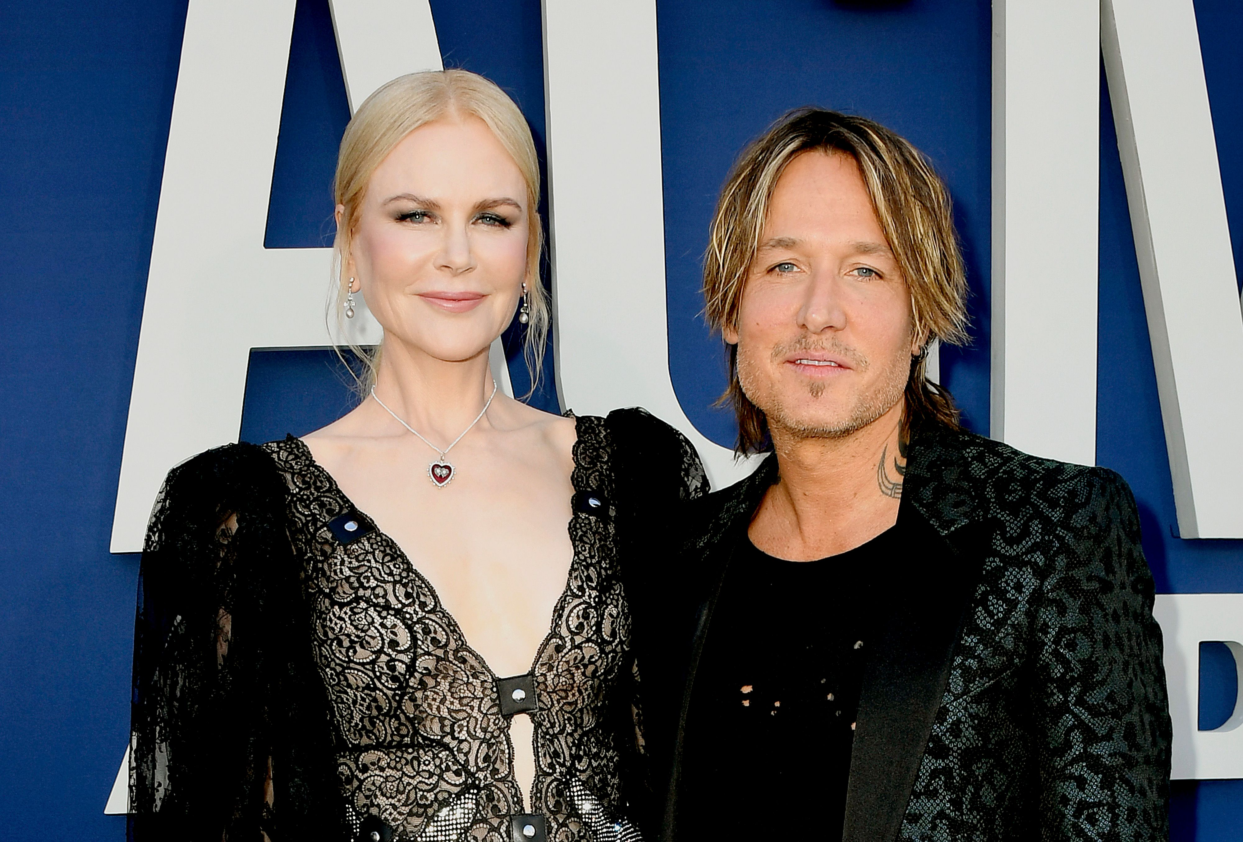 Nicole Kidman and Keith Urban at the 54th Academy Of Country Music Awards at MGM Grand Hotel & Casino on April 07, 2019 | Photo: Getty Images