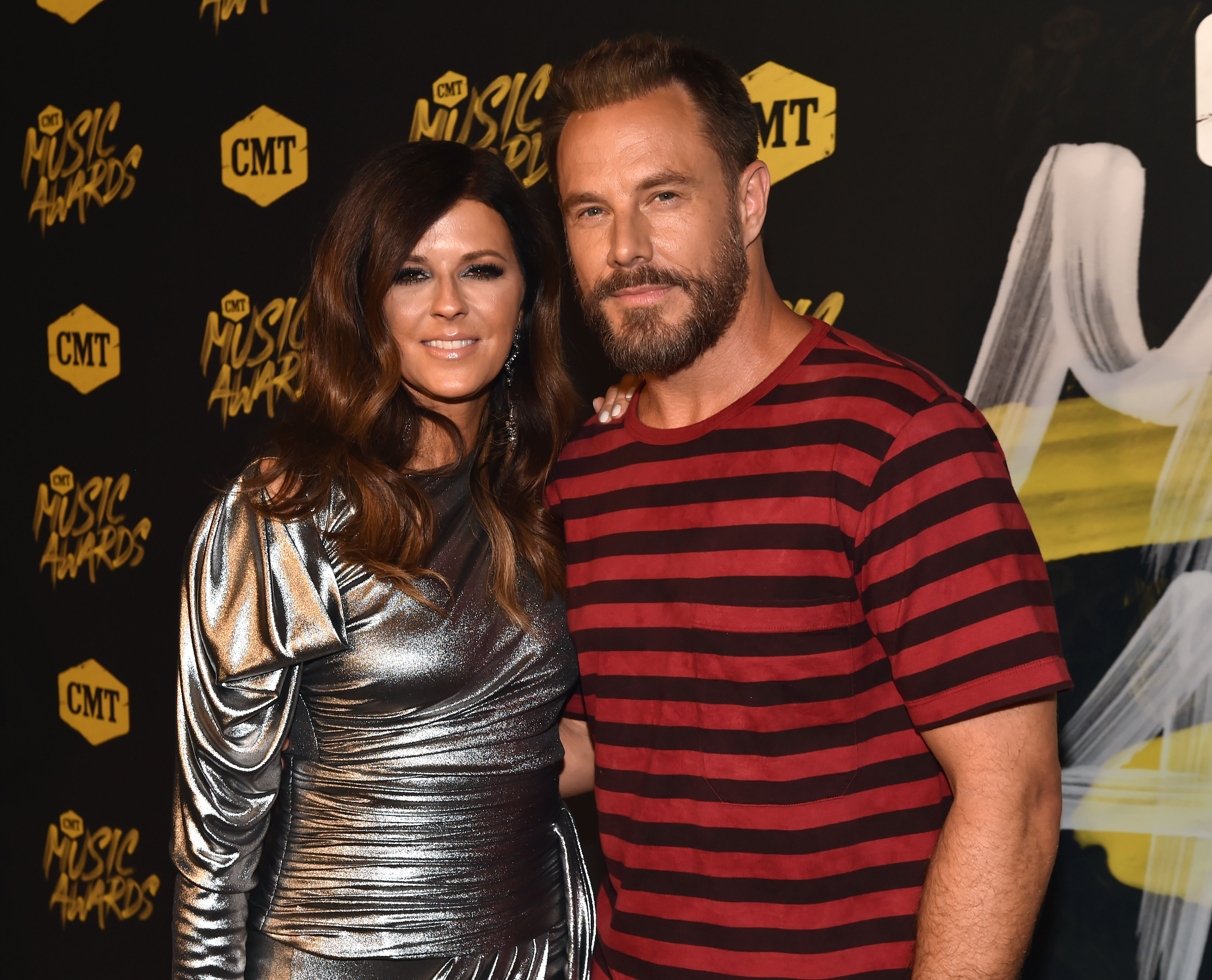 Karen Fairchild and Jimi Westbrook during the 2018 CMT Music Awards at Nashville Municipal Auditorium on June 6, 2018 in Nashville, Tennessee.   Source: Getty Images