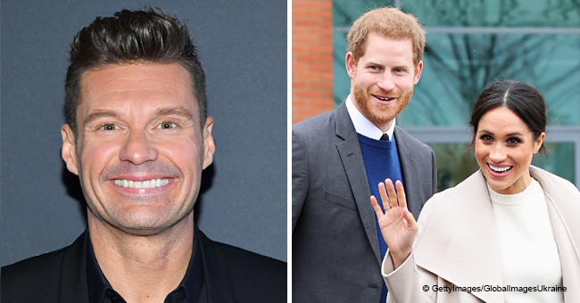 Ryan Seacrest Congratulates Meghan Markle and Prince Harry on the Birth of Their Baby