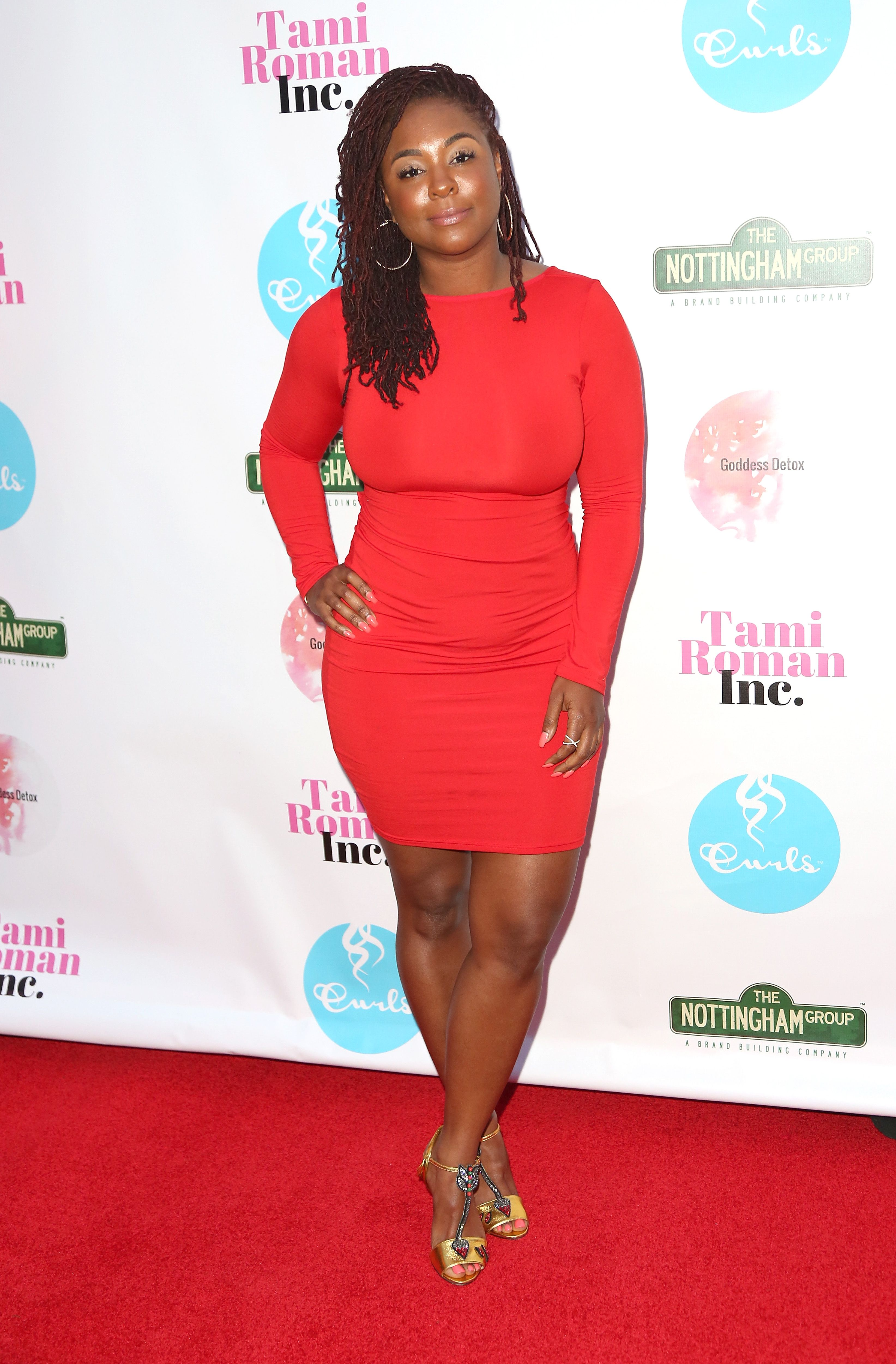 Torrei Hart during the Women of Influence Dinner at Xen Lounge on May 15, 2017 in Studio City, California. | Source: Getty Images