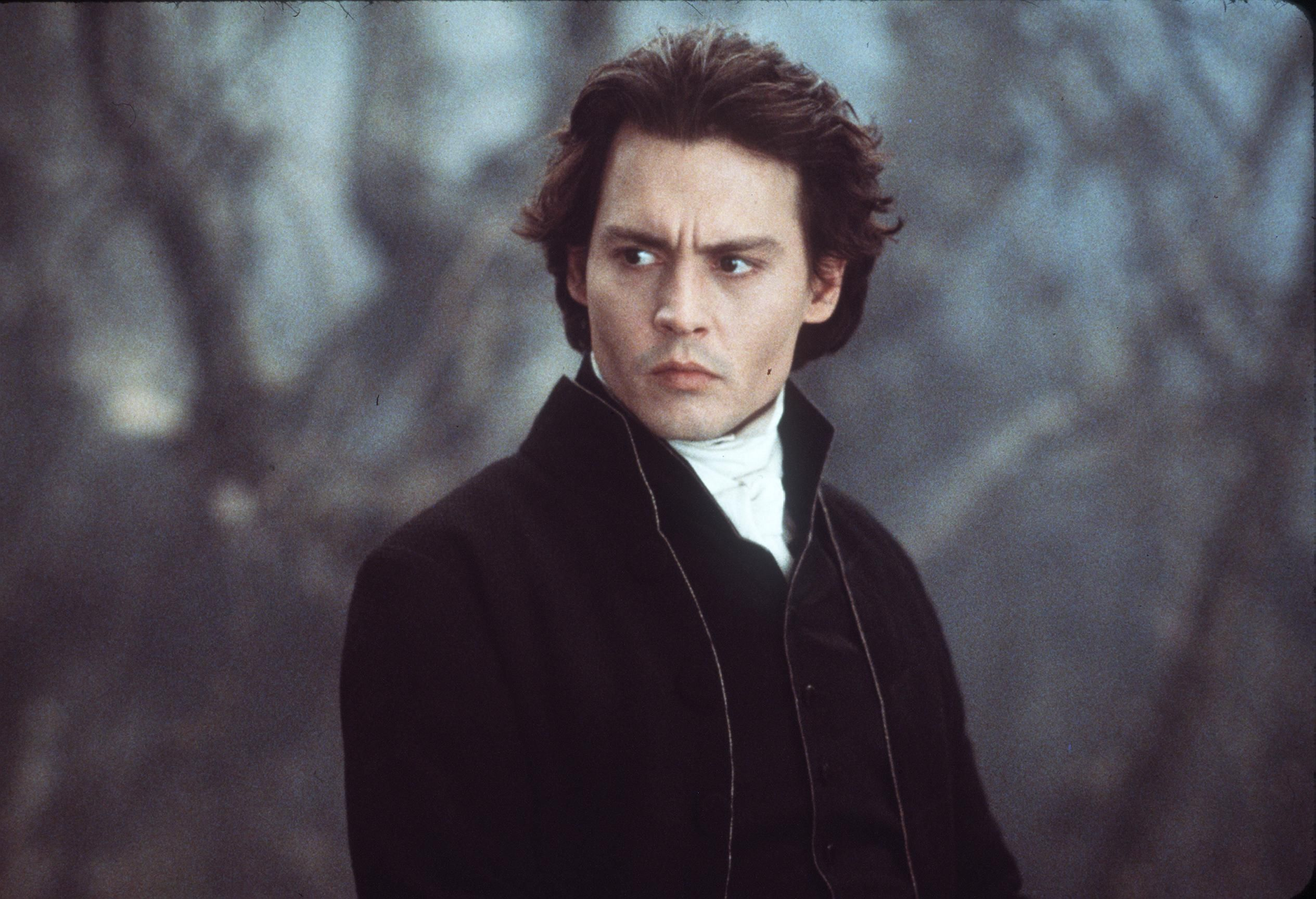 "Johnny Deep Stars In The Movie ""Sleepy Hollow."" 