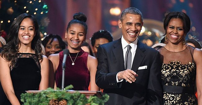 Michelle Obama Jokes about Daughters Sasha & Malia Baking Pies at Midnight Amid the Pandemic