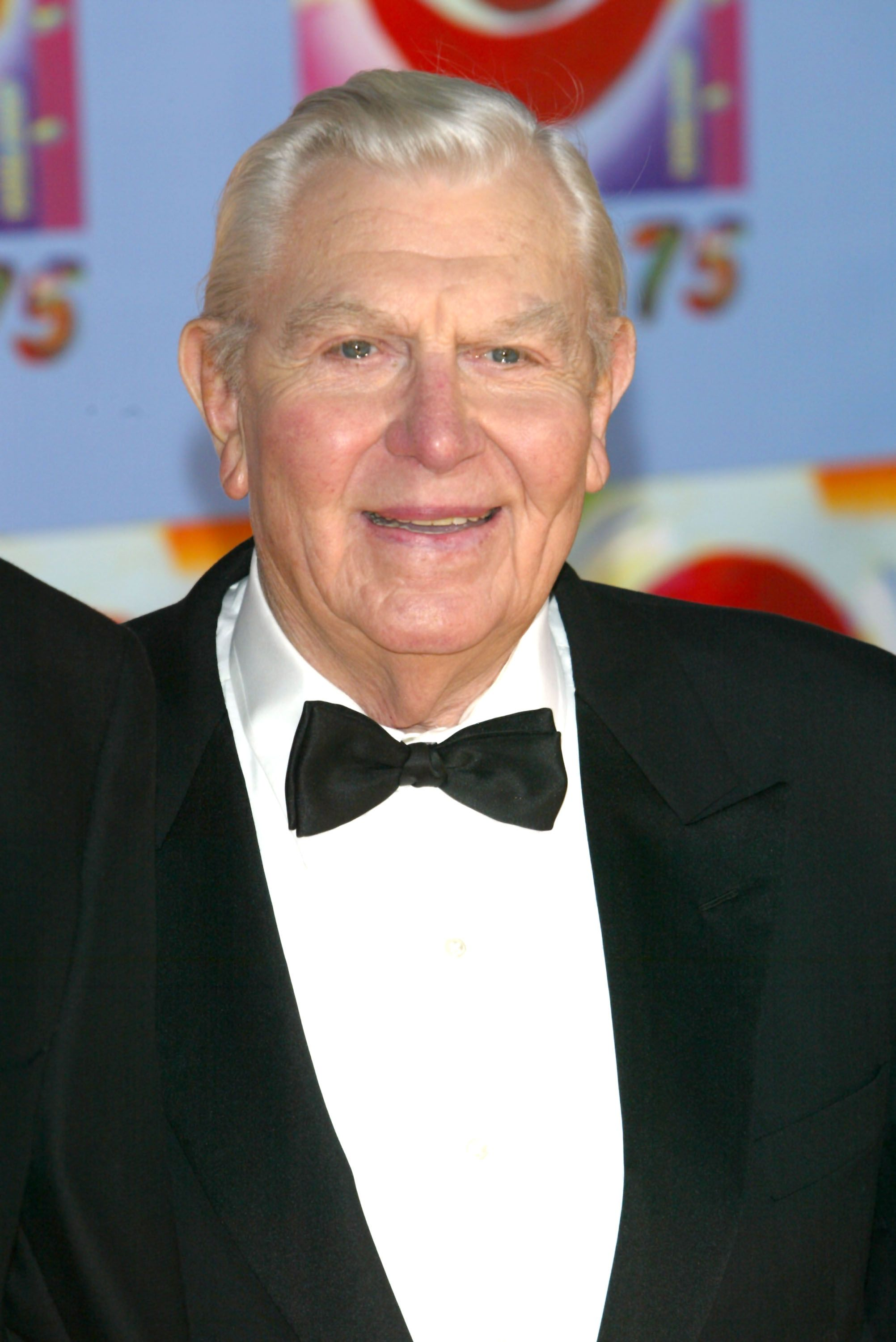 """Andy Griffith at the """"CBS At 75"""" celebration on November 2, 2003, in New York City   Photo: Matthew Peyton/Getty Images"""