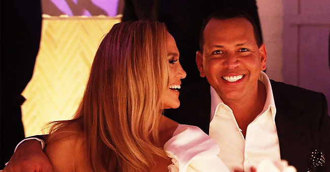 'Hustlers' Actress Jennifer Lopez and MLB Legend Alex Rodriguez Have Their Engagement Party in LA