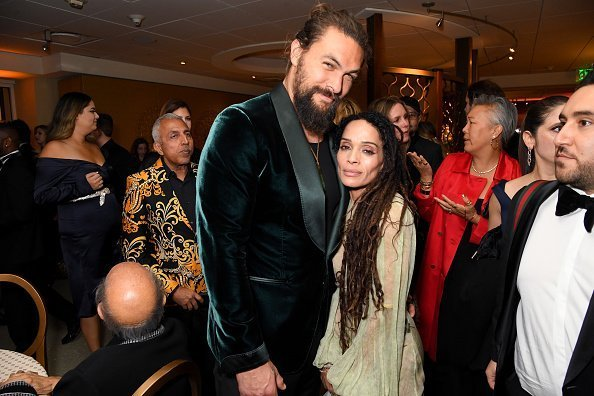 Jason Momoa and Lisa Bonet attend HBO's Official 2020 Golden Globe Awards After Party on January 05, 2020 | Photo: Getty Images
