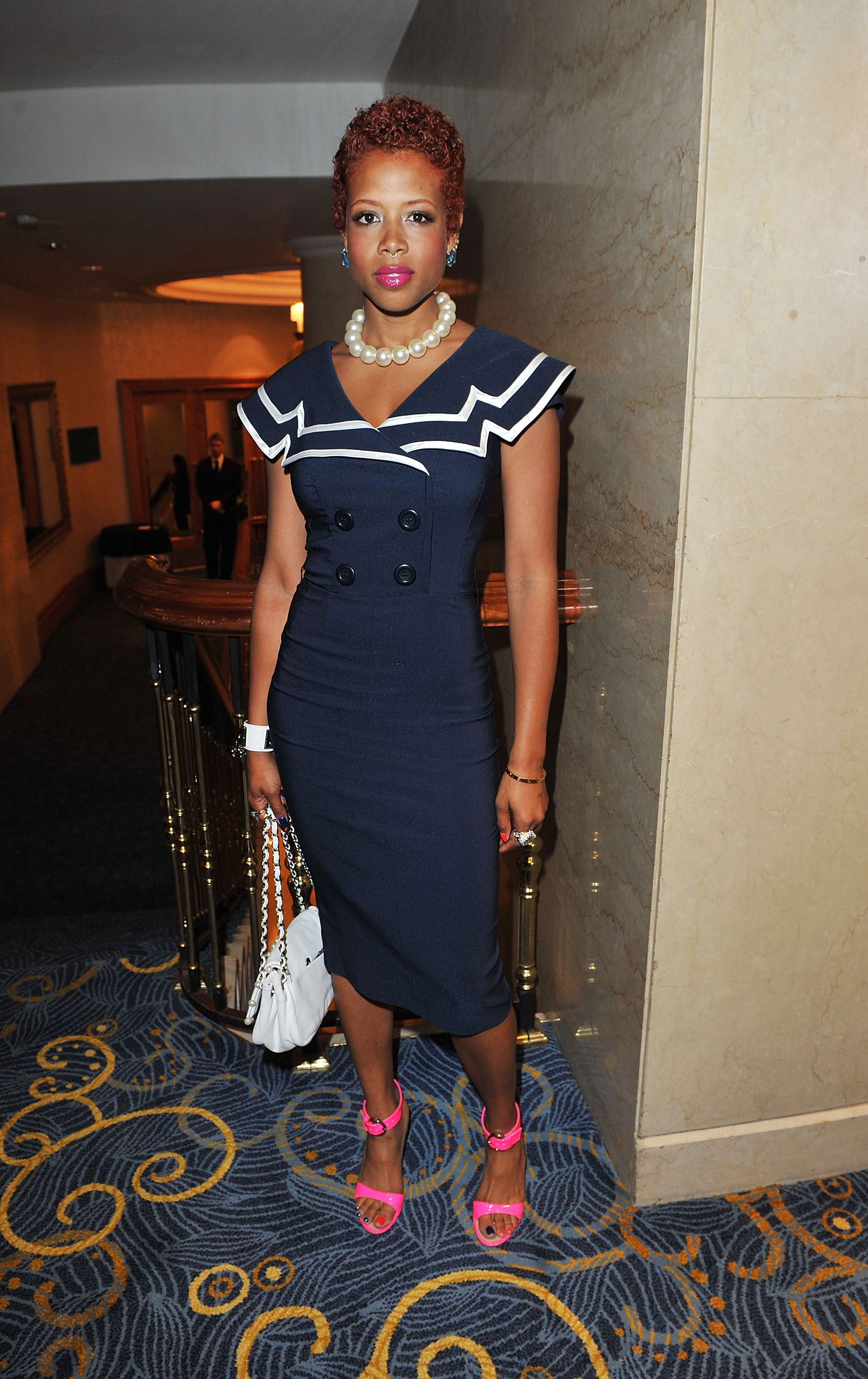 Kelis attends the 35th Nordoff Robbins 02 Silver Clef Awards at London Hilton on July 2, 2010. | Photo: Getty Images
