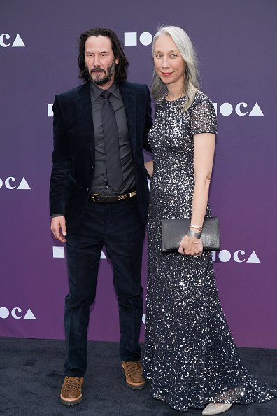 Keanu Reeves and Alexandra Grant at the MOCA Benefit 2019 on May 18, 2019 | Photo: Getty Images