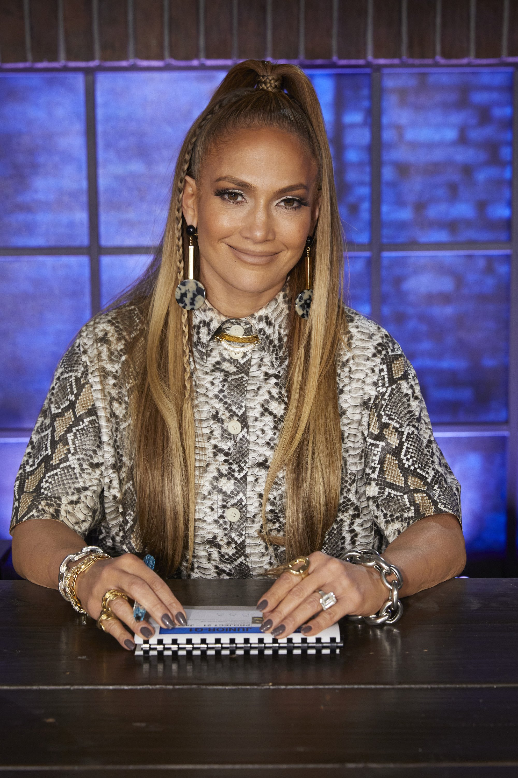 """Jennifer Lopez on the judging panel of """"World of Dance,"""" in February 2020. 