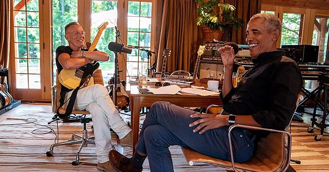 Barack Obama Sings with Bruce Springsteen on Their Podcast & Opens up about His Love for Music