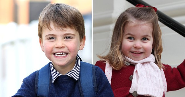 See Prince Louis' 1st Day at Nursery Photo Compared with Siblings Prince George & Princess Charlotte