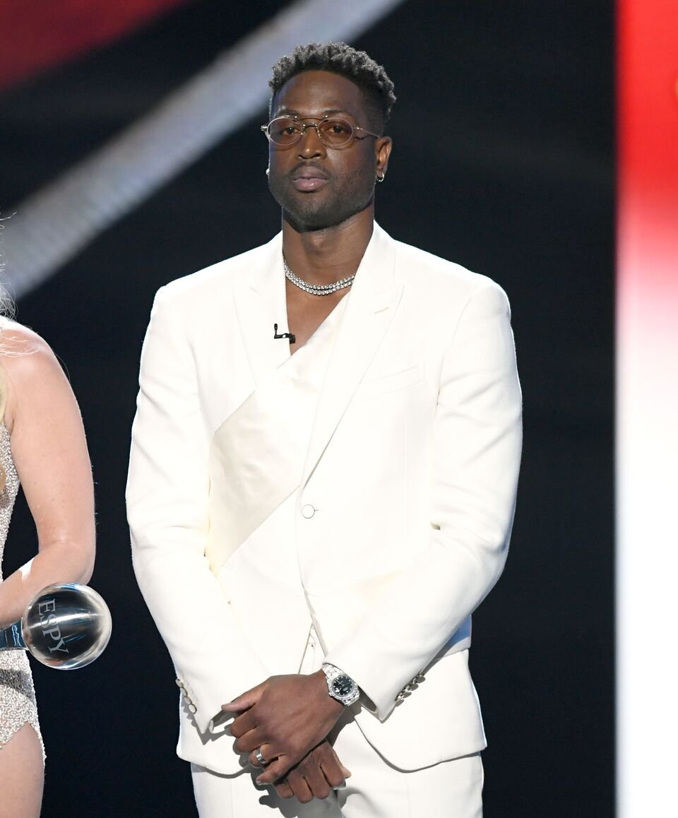 Dwyane Wade accepts the Best Moment award onstage during The 2019 ESPYs at Microsoft Theater on July 10, 2019 in Los Angeles, California. | Source: Getty Images