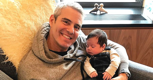 See How Happy Andy Cohen Looks in This Throwback Photo from When He First Saw His Son Ben