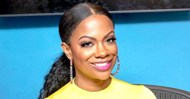 Kandi Burruss' Husband & Daughter Blaze Look like Twins Staring at Each Other in a Sweet Photo