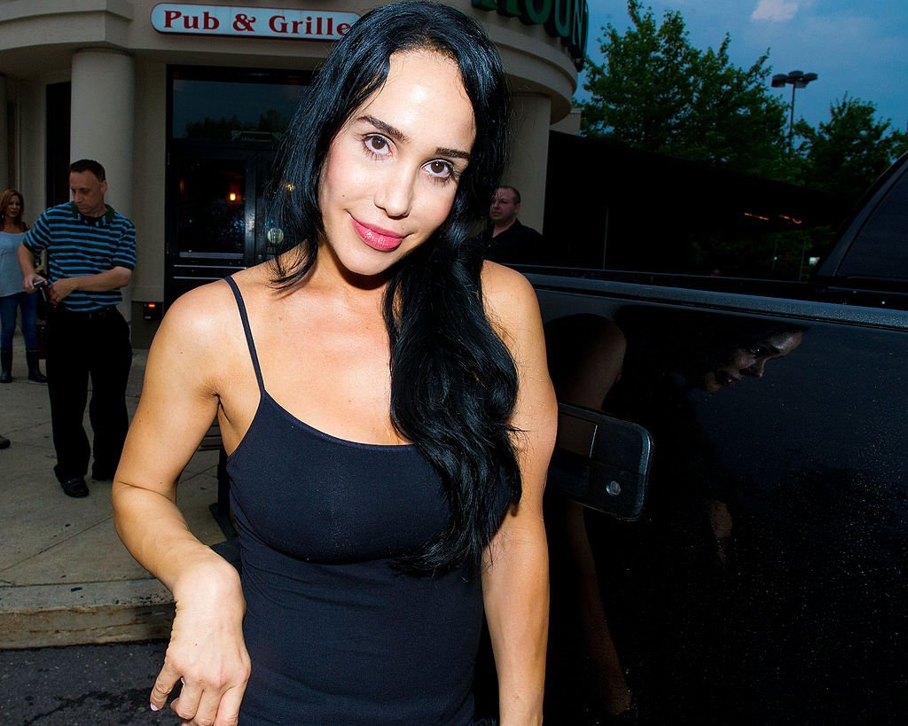 Nadya 'Octomom' Suleman poses at the Celebrity Pillow Fight Press Conference and Weigh In at the Fox And Hound Pub and Grille on June 22, 2012 | Photo: GettyImages