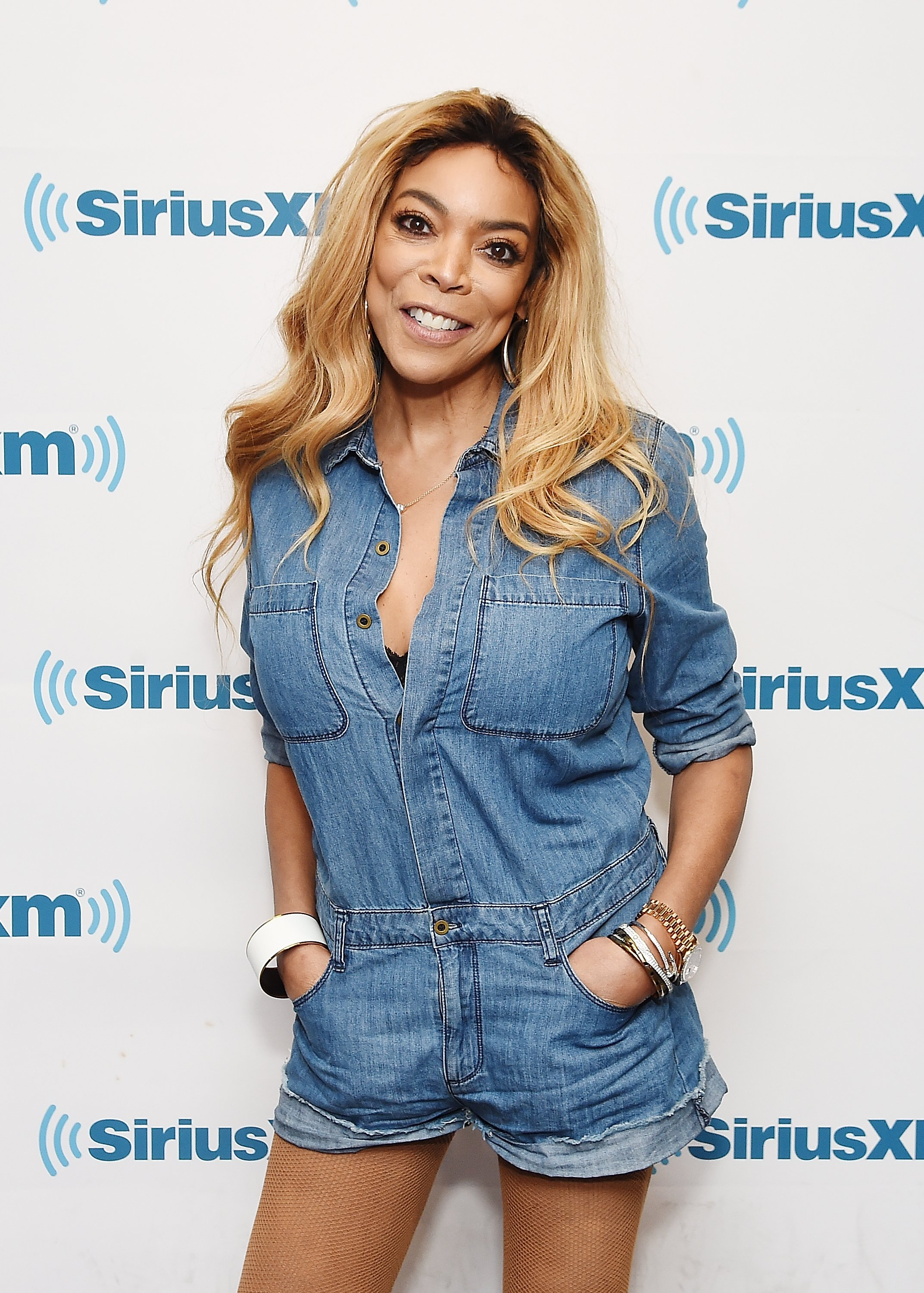 American televison host Wendy Williams visits SiriusXM Studios on July 13, 2017 in New York City | Photo: Getty Images