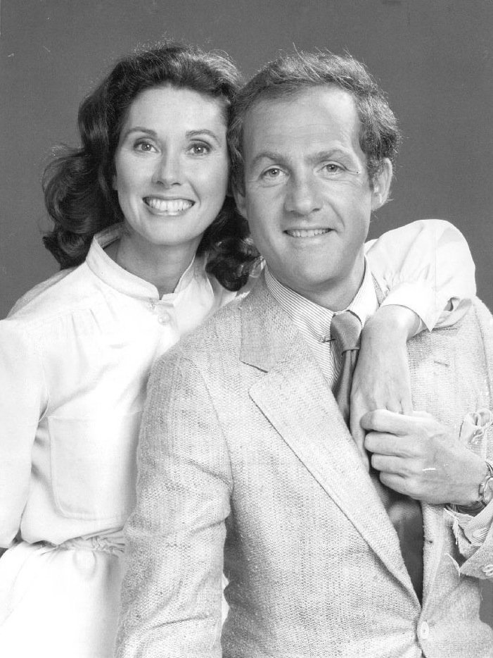 Elinor Donahue and Lawrence Pressman promoting the Tuesday, October 25, 1977 premiere of the NBC television series Mulligan's Stew. | Source: Wikimedia Commons