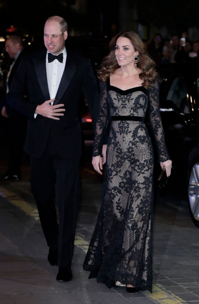 Prince William, Duke of Cambridge and Catherine, Duchess of Cambridge attend the Royal Variety Performance at the Palladium Theatre | Photo: Getty Images