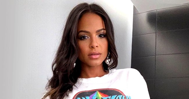 Christina Milian Slammed for Posing in Skimpy Lingerie While Heavily Pregnant — See Comments