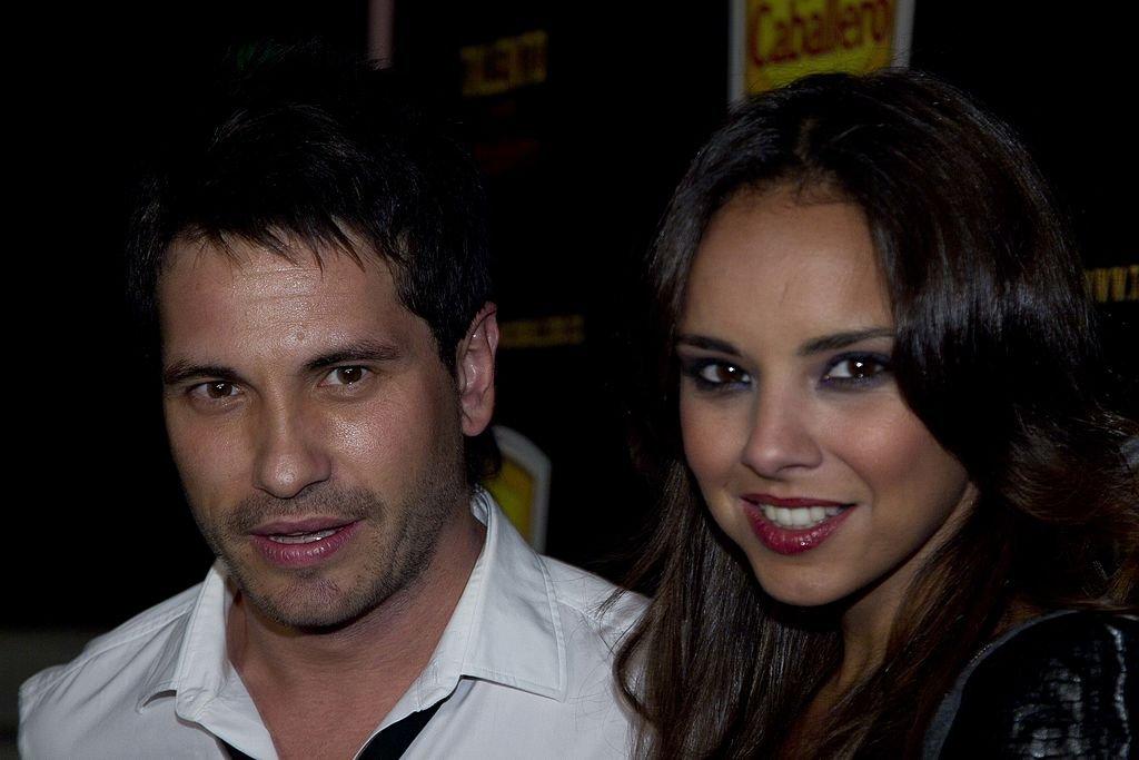 David de María y Chenoa.| Fuente: Getty Images