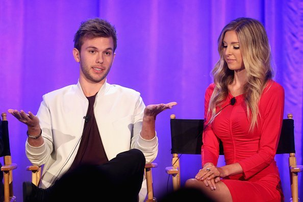 Chase Chrisley (L) and Lindsie Chrisley speak onstage during the 'Chrisley Knows Best' panel at the 2016 NBCUniversal Summer Press Day at Four Seasons Hotel Westlake Village on April 1, 2016 in Westlake Village, California | Photo: Getty Images