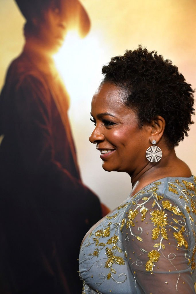 "Vanessa Bell Calloway attends the Premiere Of Focus Features' ""Harriet"" at The Orpheum Theatre  