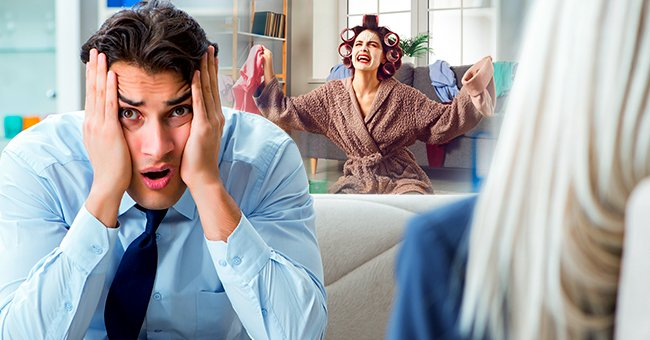 Daily Joke: One Husband Asks the Doctor for Help Concerning His Wife's Temper