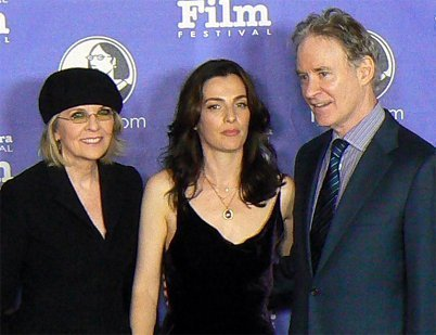 Diane Keaton, Ayelet Zurer and Kevin Kline at the Santa Barbara Film Festival. | Source: Wikimedia Commons