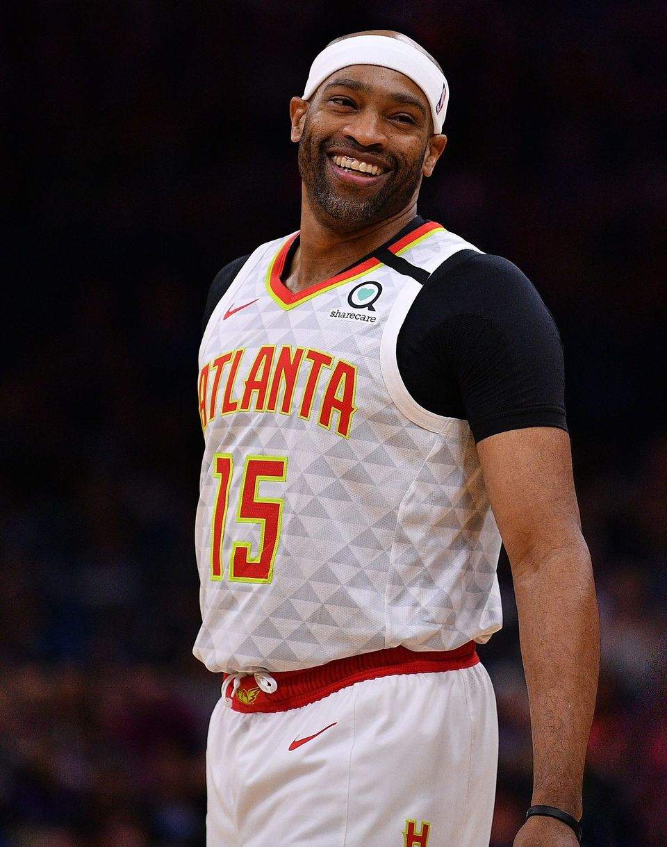 Vince Carter of the Atlanta Hawks in action against the Orlando Magic at Amway Center on February 10, 2020 in Orlando, Florida. | Source: Getty Images