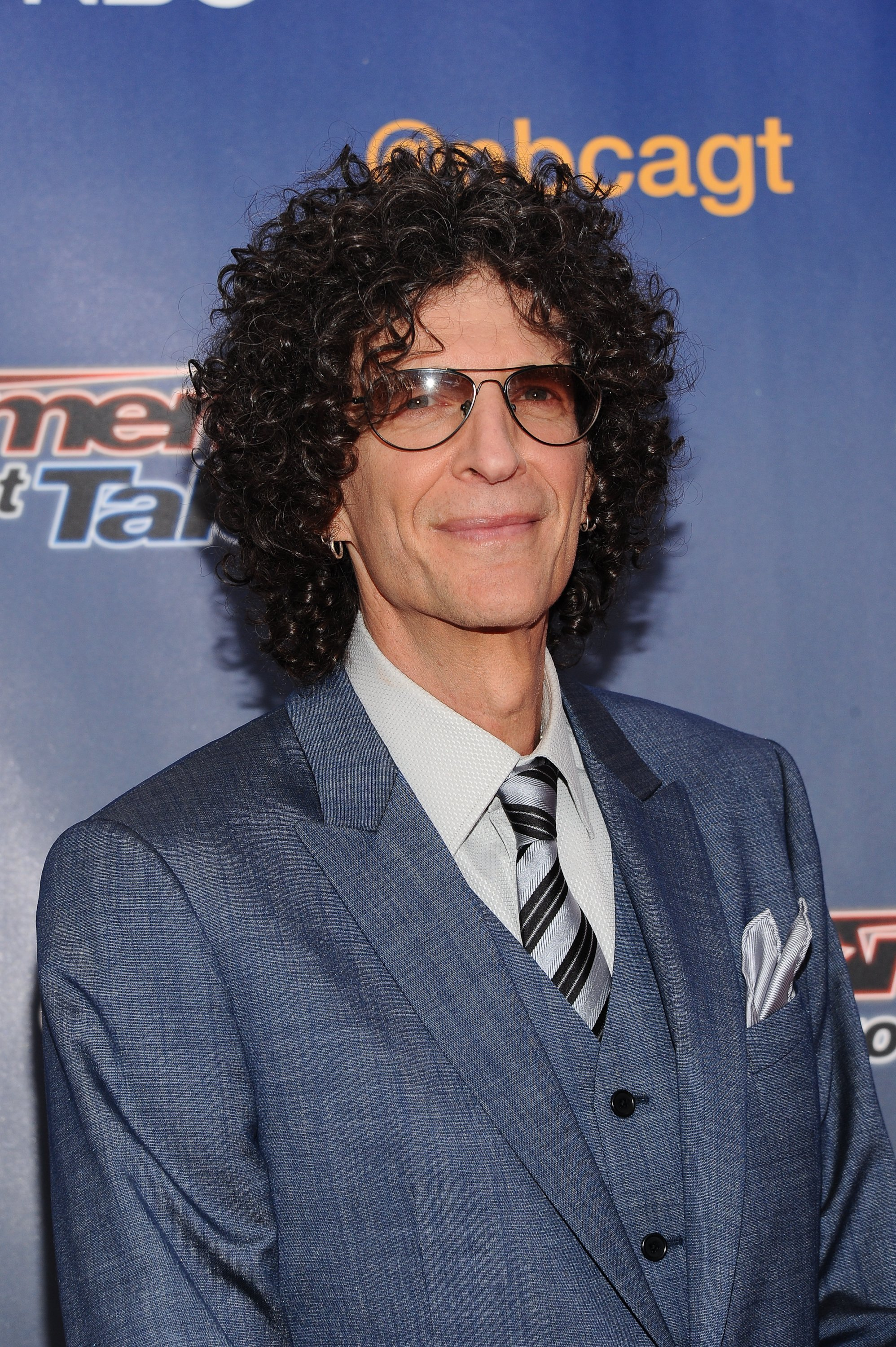 """Howard Stern attends the """"America's Got Talent"""" Season 9 Pre Show Red Carpet Event at Radio City Music Hall on July 29, 2014. 