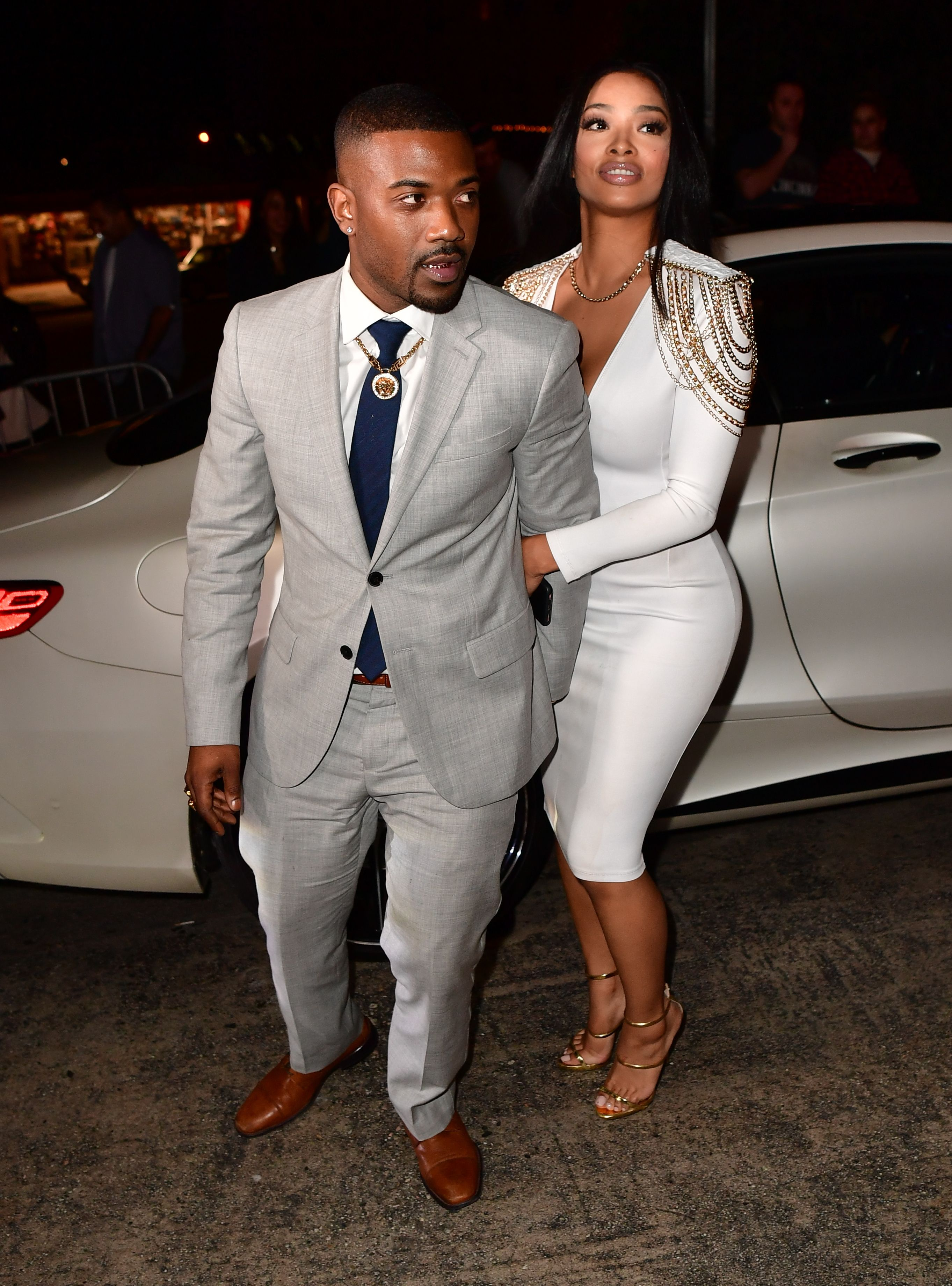 Ray J and Princess Love seen on February 12, 2017 in Los Angeles, California. | Source: Getty Images