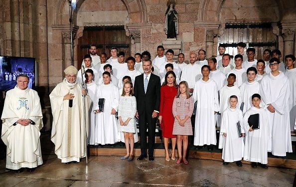 La realeza española asistió al XIII centenario del reinado de Asturias, 8 de septiembre de 2018. | Imagen: Getty Images