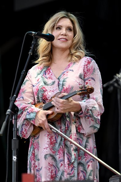 Alison Krauss at Highland Ground on September 21, 2019 in Louisville, Kentucky. | Photo: Getty Images