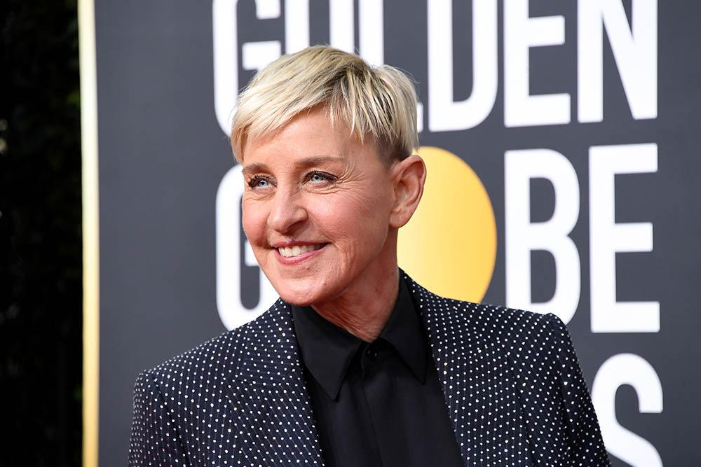 Ellen DeGeneres attends the 77th Annual Golden Globe Awards at The Beverly Hilton Hotel on January 05, 2020 in Beverly Hills, California. I Image: Getty Images.